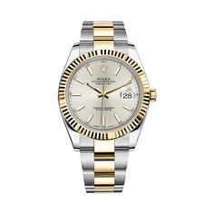 #Rolex Datejust Gold & Stainless Steel #Watch