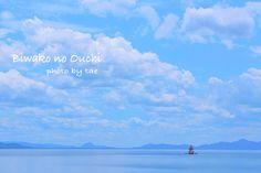 琵琶湖に浮かぶ小さなおうち♡