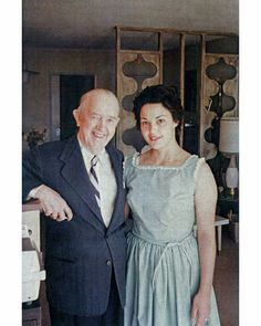 Stan Laurel being visited at home in 1964 by friend and fan Patricia Stowell who sadly passed away on Sep 2nd aged 81