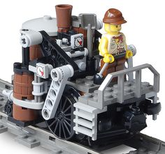 Steampunk Lego, Lego Machines, Lego Creator Sets, Lego Creative, Amazing Lego Creations, Lego Trains, Lego Modular, Lego Design, Lego Projects