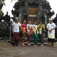 This is our today's activity. We are doing a Tirta Yatra ceremony and staff gathering in the afternoon.