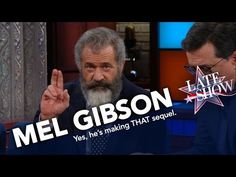 "Mel Gibson Reveals His Supernatural Ideas for ""Passion"" Sequel on Late Show 