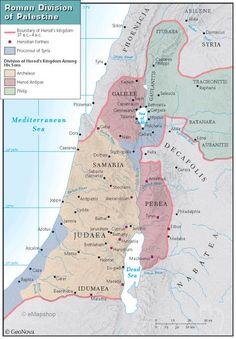 Roman Division of Palestine
