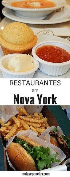 Restaurantes em Nova York | Malas e Panelas
