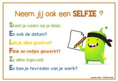 SELFIE bij taken en toetsen (meester Bram) Co Teaching, Teaching Skills, Teacher Tools, My Teacher, Teach Like A Champion, Classroom Expectations, Class Dojo, 21st Century Skills, School Posters