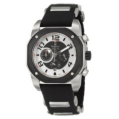 @Overstock - The Marine Star watch by Bulova features a stylish design that looks great with formal or casual dress. This watch has a comfortable rubber strap for better fit.http://www.overstock.com/Jewelry-Watches/Bulova-Mens-Marine-Star-Chronograph-Black-Rubber-Strap-Watch/5579717/product.html?CID=214117 $142.06