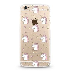 Unicorns iPhone 6 case, iphone 6s case transparent clear case