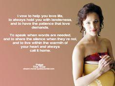 Rachel Mcadams The Vow Quotes. QuotesGram