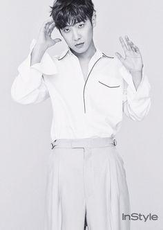 Lee Joon - InStyle Magazine January Issue '17