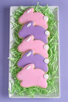 3-D Easter Bunny Cookies