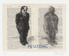 William Kentridge 'Pensione', 1999 © William Kentridge