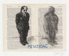 William Kentridge 'Pensione', 1999 © William Kentridge