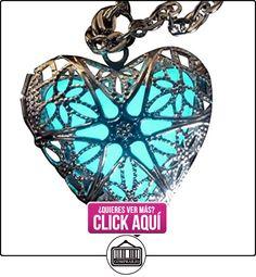 Steampunk hada mágica de hadas brilla en la oscuridad necklace-aqua-sil por umbrellalaboratory  ✿ Joyas para niños - Regalos ✿ ▬► Ver oferta: https://comprar.io/goto/B00BXOFY4O