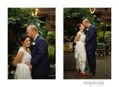 Philadelphia Terrain Wedding, Wedding Dress, Meg Brock Photography, Madison James, Bride, Bride and Groom, Wedding Portrait, Rainy Day Wedding, bride with rainboots