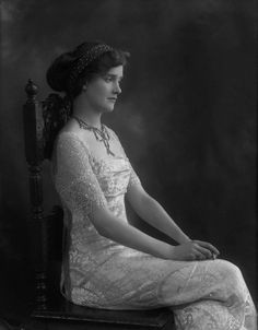 Lady Cynthia Asquith by Bassano, 1912