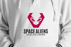 Aliens Logo Template by pne-design on @creativemarket