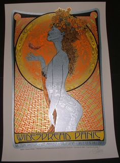 Widespread Panic Wiltern Theatre Los Angeles Tour Poster Chuck Sperry AP