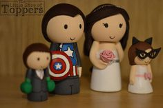 Your place to buy and sell all things handmade Wedding Cake Toppers, Wedding Cakes, Superhero Cake Toppers, Superhero Family, Tie Colors, Bride Hairstyles, Colorful Flowers, Special Day, Our Wedding