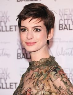 Long or short hair, this woman is beautiful, and such an inspiration.