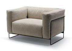 sofa&armchair - PalombaSerafini Associati / ps + a / Ludovica + Roberto Palomba Luxury Furniture, Modern Furniture, Furniture Design, Modern Interior, Interior Design, Office Sofa, Comfortable Sofa, Lounge Seating, Take A Seat