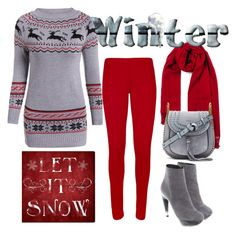"""""""cosy winter"""" by mickialaandrea on Polyvore featuring WearAll, Jil Sander, Chloé and Oliver Gal Artist Co."""