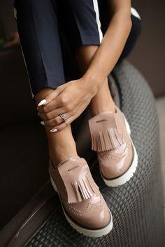 Womens oxford shoes by Yarose Shulzhenko