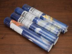 York Planets Wallpaper Border 4 Rolls 20 Yards 60 Feet Blue Galaxy LK1620B. You will receive all 4 rolls. Pre-pasted decorative border. A couple seem to be a bit more open on one end, but I don't see any evidence that they were removed. | eBay!