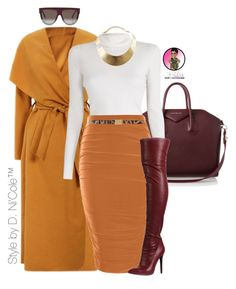 """""""Untitled #2855"""" by stylebydnicole ❤ liked on Polyvore featuring Mode, Givenchy, A.L.C., Boohoo, CÉLINE, GUESS und Dolce&Gabbana"""