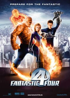Fantastic Four - Review: Fantastic Four (2005) is a 1h 46-minute American-German science-fiction action adventure superhero… #Movies #Movie