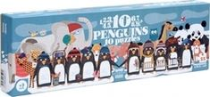10 Penguins 55pcs (PZ348) Londji - Skroutz.gr Baby Girl Toys, Toys For Girls, Activity Toys, Activities, Penguins, Toy Chest, Puzzles, Teaching, Age 3