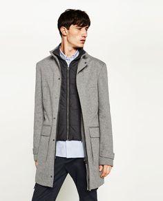 Image 2 of MELANGE COAT from Zara