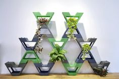 Vava Green Wall Screen Is A Modular #Planter System That Can Be Used Indoors Or Outdoors