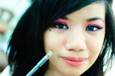 Outrageously Dramatic Eye Makeup. #eyemakeup #drama #dramaticeyemakeup