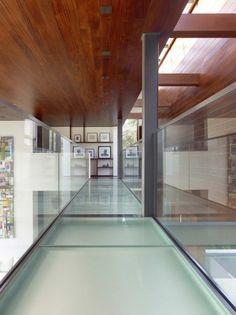 OZ House / Swatt | Glass floors | California, by Miers Architects