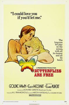 """Netflix Mail Day Movie Review: """"Butterflies Are Free"""" (1972) 