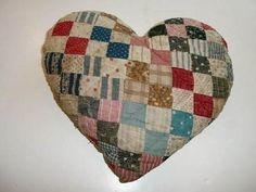pillow postage stamp quilt
