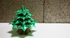 DIY Origami Christmas Tree « Math Craft