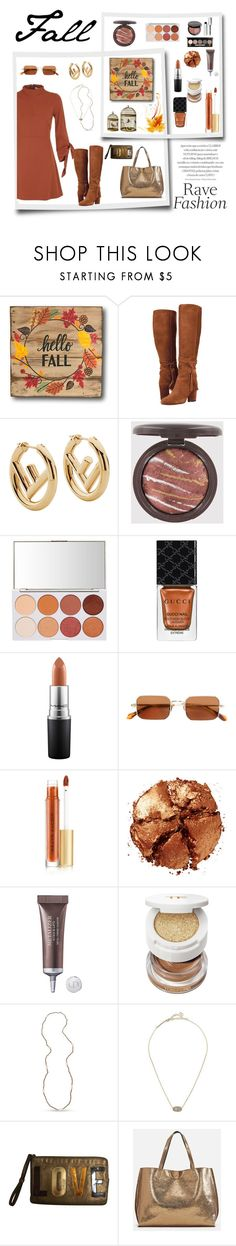 """Fall Fashion"" by neesyrn on Polyvore featuring Fendi, Gucci, MAC Cosmetics, Brioni, Kevyn Aucoin, Pat McGrath, Christian Dior, Tom Ford, Kendra Scott and Lanvin"
