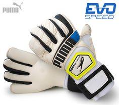 Puma Goalkeeper Glove evoSPEED Keeper Gloves, Goalie Gloves, Goalkeeper, Soccer, Goaltender, Gloves, Fo Porter, Futbol, European Football