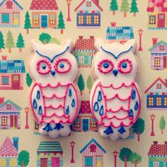 * owl cookies *