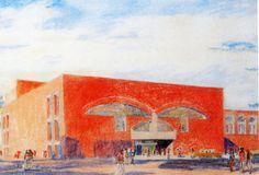Louis Kahn, Fine Arts Center, Fort Wayne, Indiana 1959-73 » L A P I S