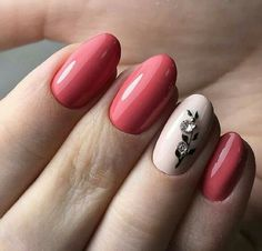 Hey there lovers of nail art! In this post we are going to share with you some Magnificent Nail Art Designs that are going to catch your eye and that you will want to copy for sure. Nail art is gaining more… Read Pink Nails, My Nails, Nail Trends 2018, Nagellack Trends, Trendy Nail Art, Glue On Nails, Fabulous Nails, Natural Nails, Nails Inspiration