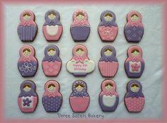 Cute! Russian matroskas cookies