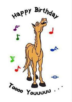 singing mule birthday