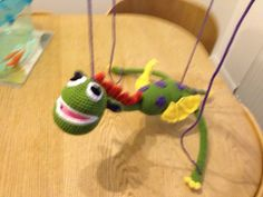 I can make puppets!!!! If there is something special you would like me to make for you then let me know!
