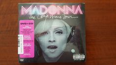 Madonna The Confessions Tour CD + DVD Taiwan 0-9362-44489-2-1  SEALED Rebel Tour