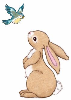 Half Term Reductions including Belle and Boo's  Boo and the Bluebird wall sticker  (A4) at Bluebells Burrow