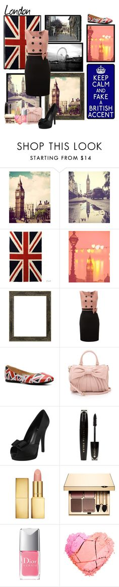 """""""keep calm and fake a british accent"""" by lydiaguinevere-1 ❤ liked on Polyvore featuring Jonathan Adler, Costa, Izabel London, London Rebel, RED Valentino, Fendi, L'Oréal Paris, AERIN, Christian Dior and women's clothing"""