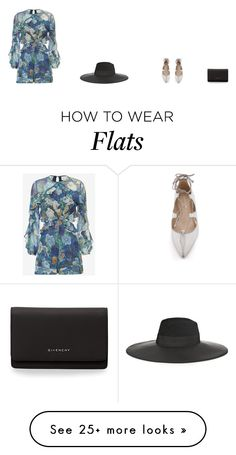 """""""Untitled #1443"""" by nyesom on Polyvore featuring Loeffler Randall, Zimmermann, Givenchy and Maison Michel"""