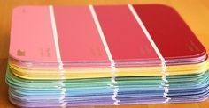 You won't believe how many awesome crafts you can make with a handful of paint chips!